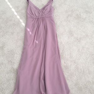 bridesmaid dress sz 8 dusty rose